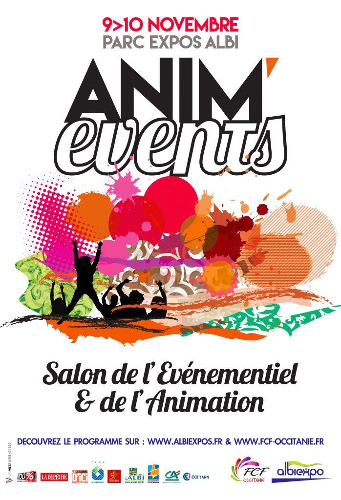 AFFICHE ANIM'EVENTS-2018 NEWVISTA
