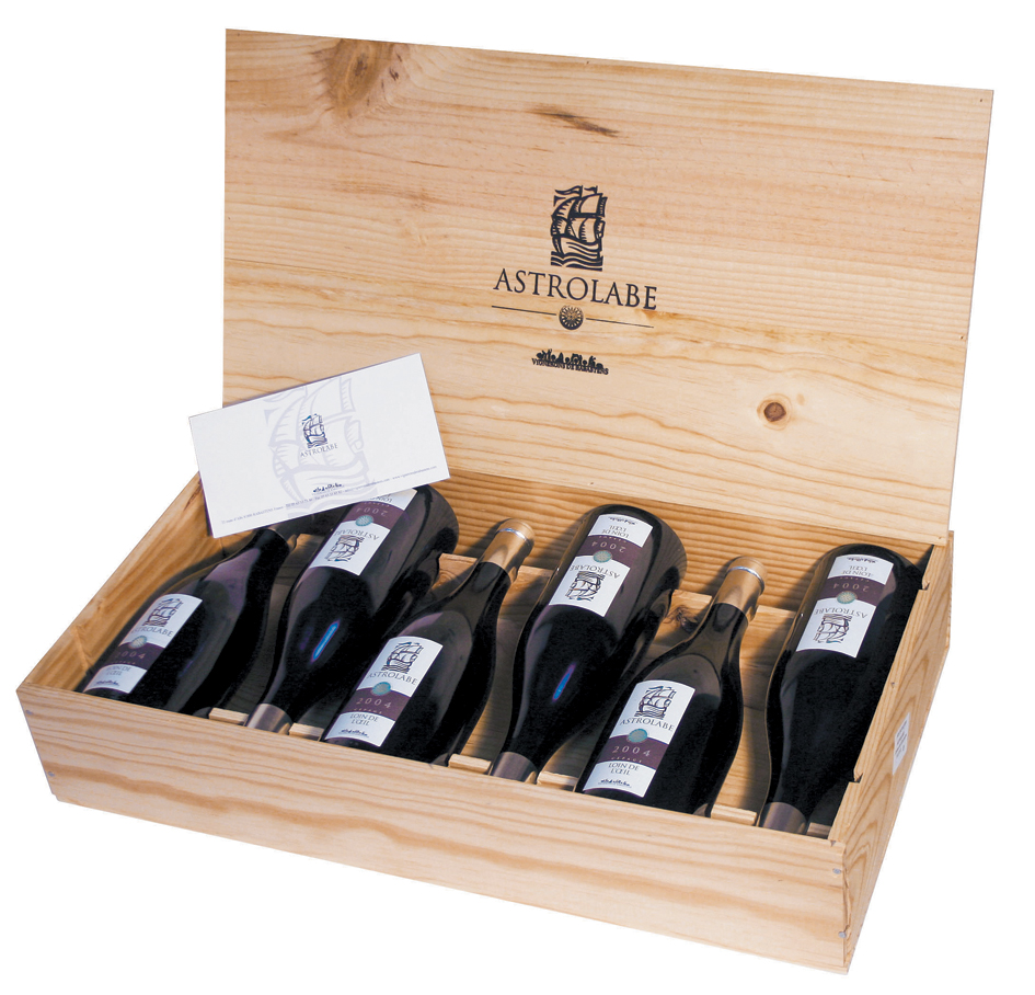 ASTROLABE-CAISSE-BOIS NEWVISTA PACKAGING