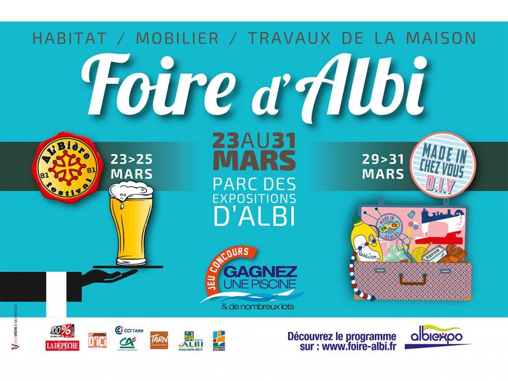 AFFICHE FOIRE D'ALBI 2019