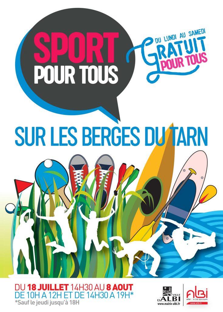 Sport sur Berges Albi 2019